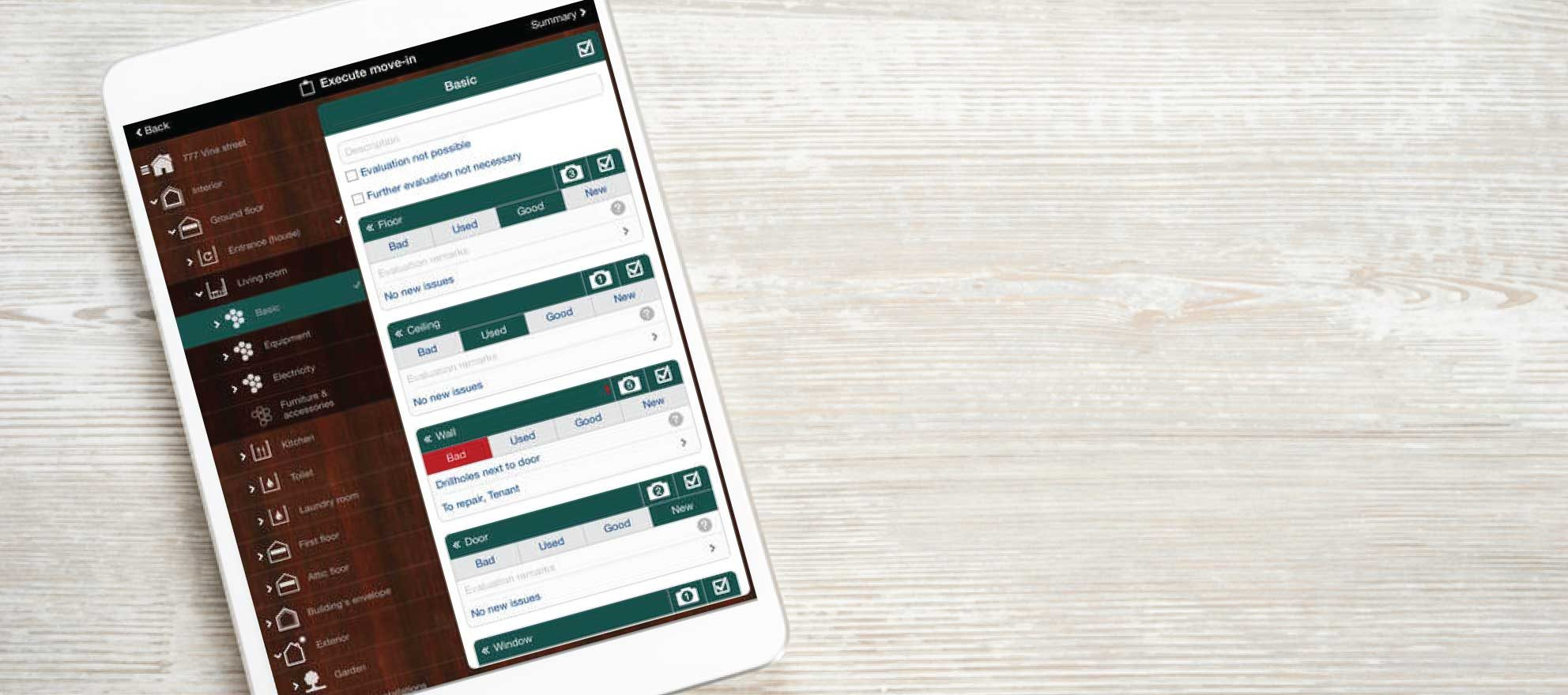 Rental inspection app offers walk-through checklists, reports