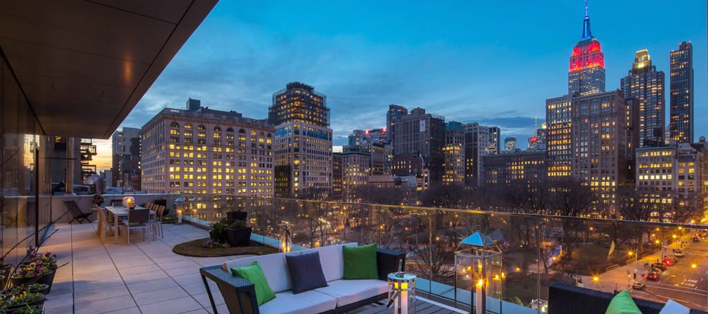 Luxury listing of the day: Flatiron condo with Madison Square Park view