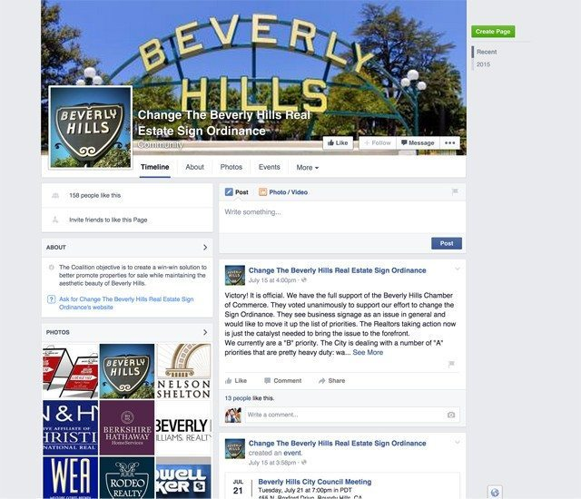 Facebook page for the group