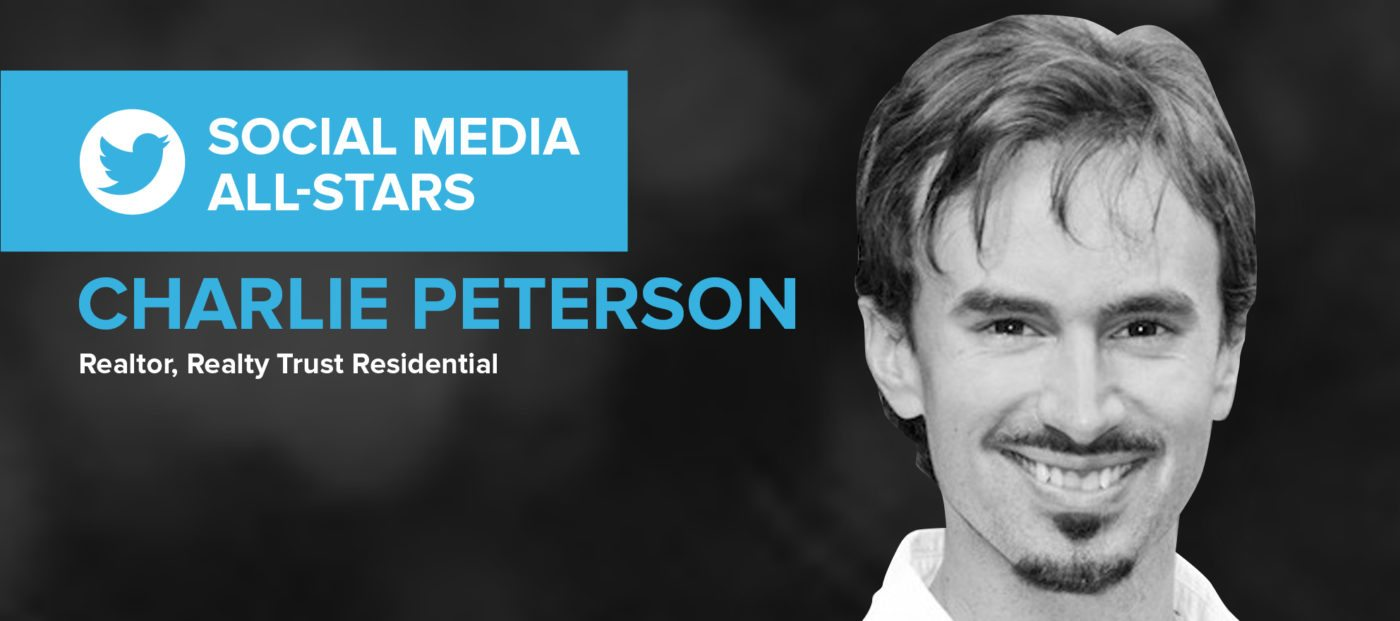 Charlie Peterson: 'My Facebook presence keeps me in front of my network daily'