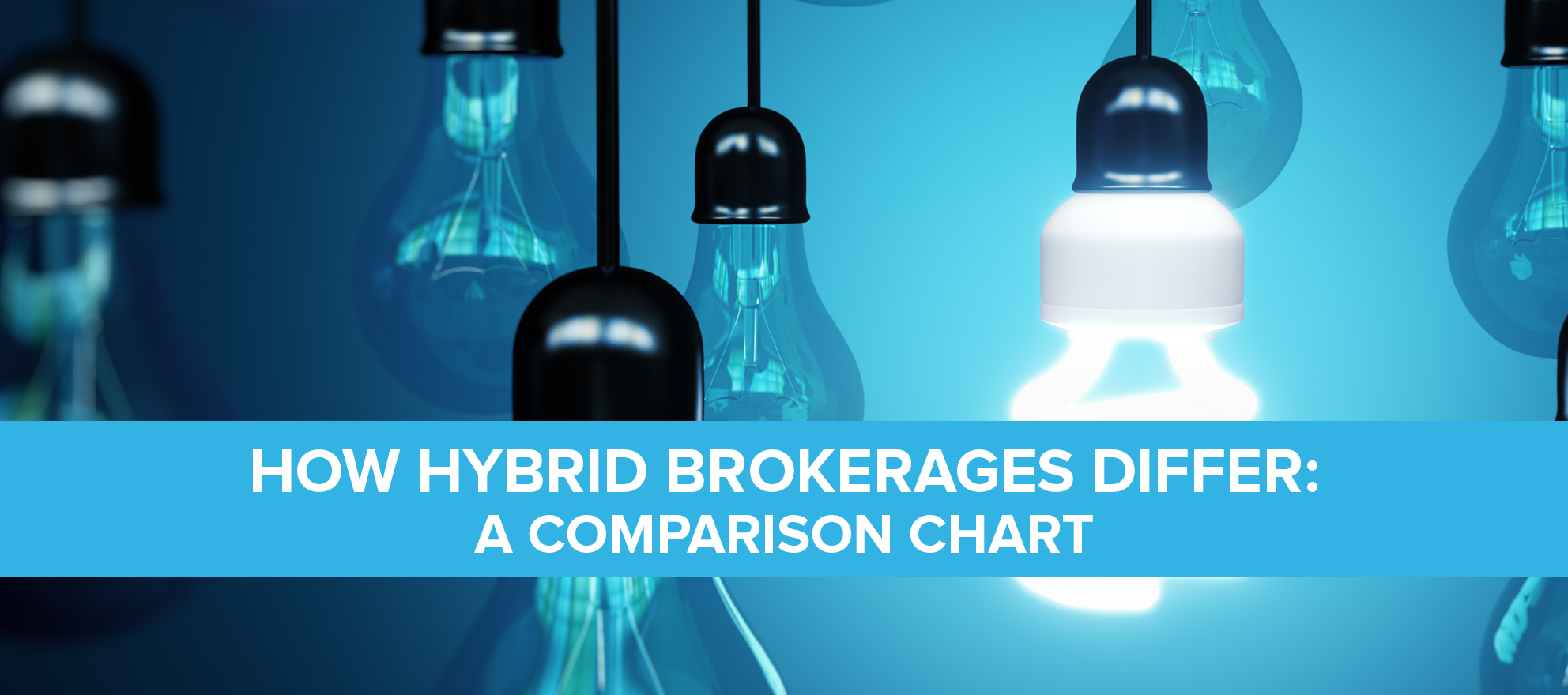 How hybrid brokerages differ: a comparison chart