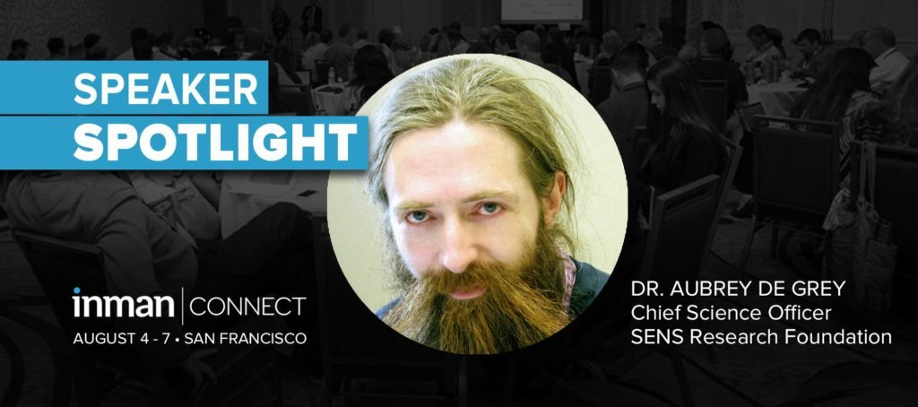 Disrupting death: ICSF speaker Dr. Aubrey de Grey says we could live forever