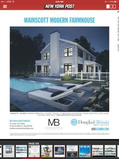 Douglas Elliman's print ad