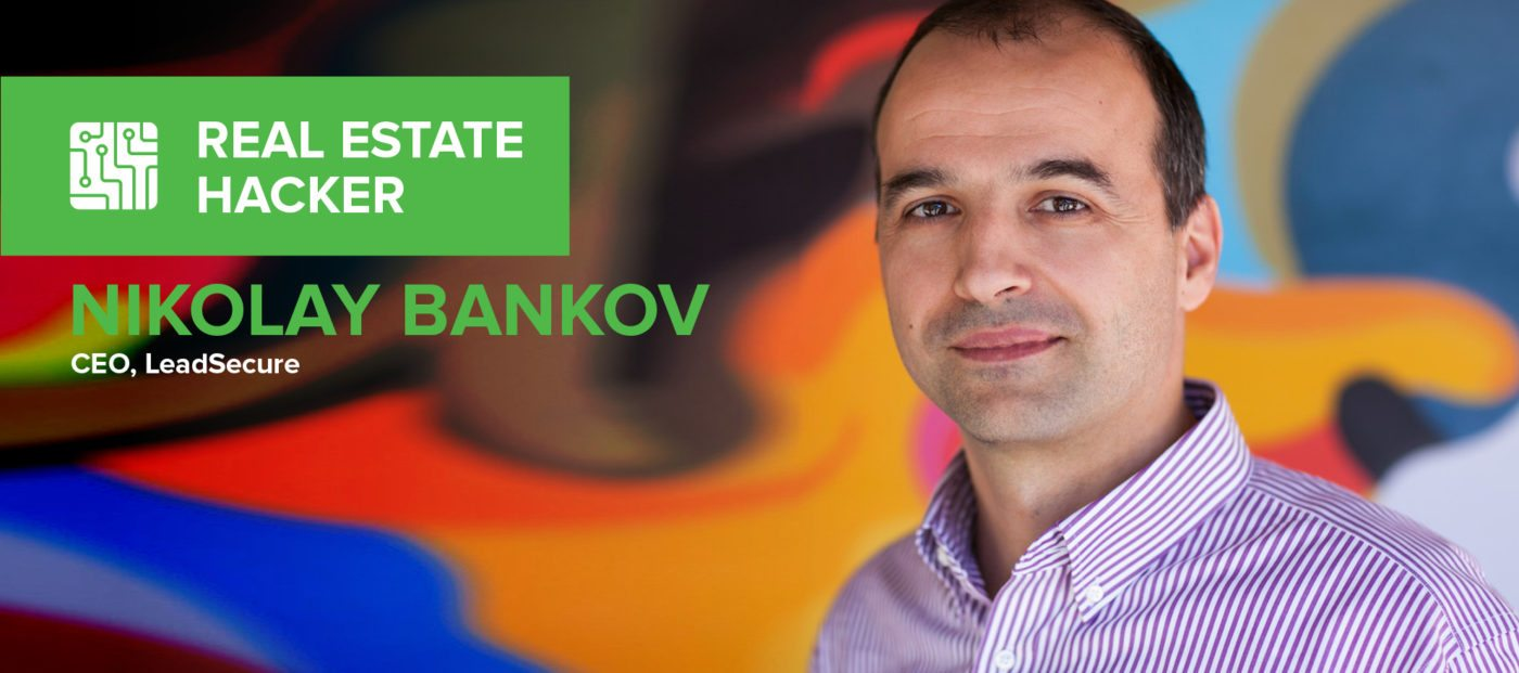 Nikolay Bankov: 'I want to be able to instantly talk to a real estate professional about a property'