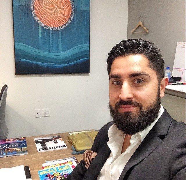 Roh Habibi in his office.