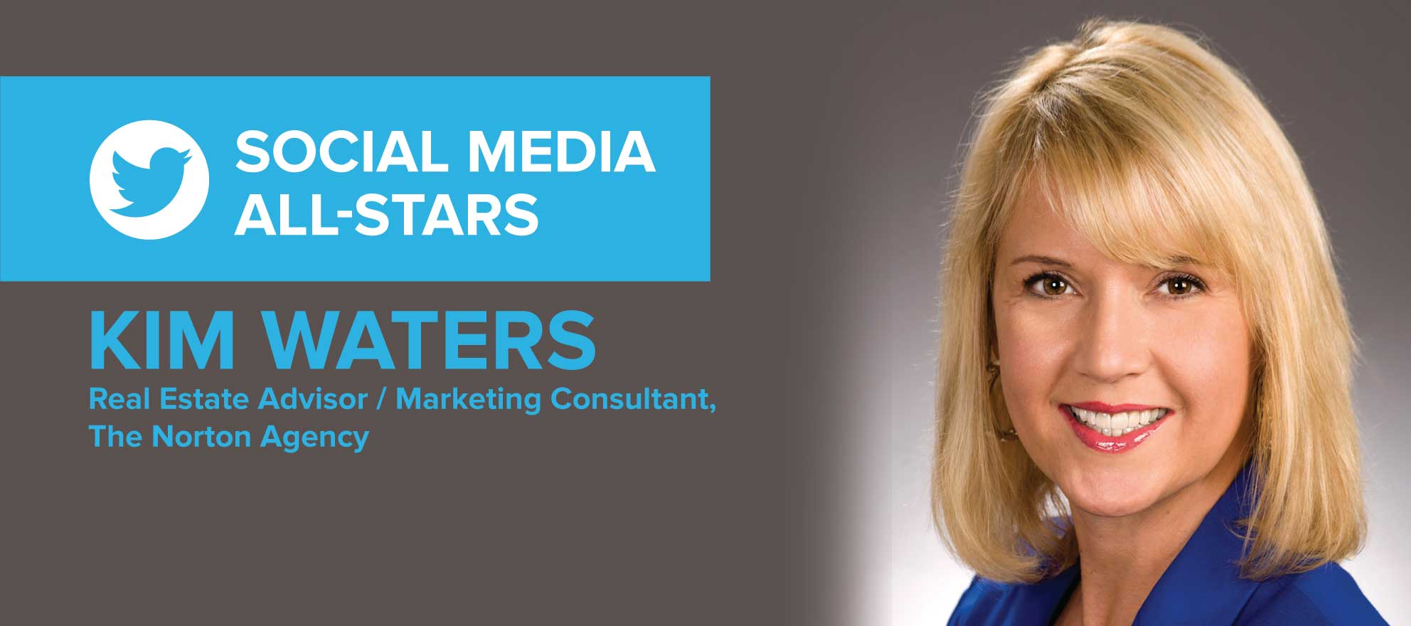 Kim Waters: 'My most productive relationships incorporate social media'