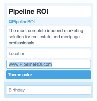 How to add a website link to your Twitter profile