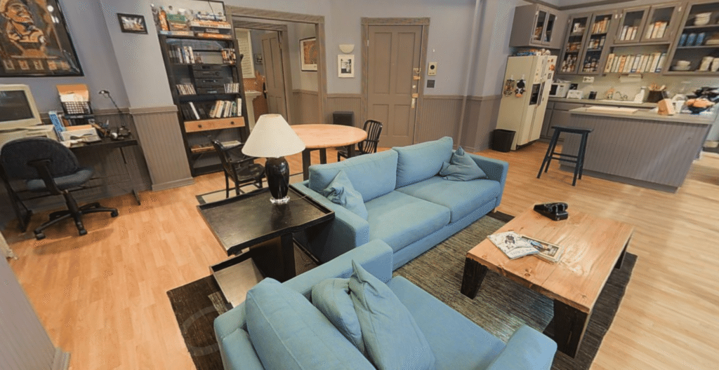 3-D home of the day: Seinfeld's pad
