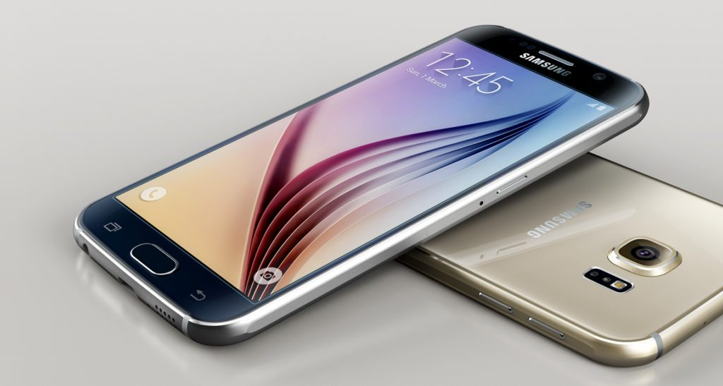 Samsung Galaxy S6 - image courtesy of Samsung.