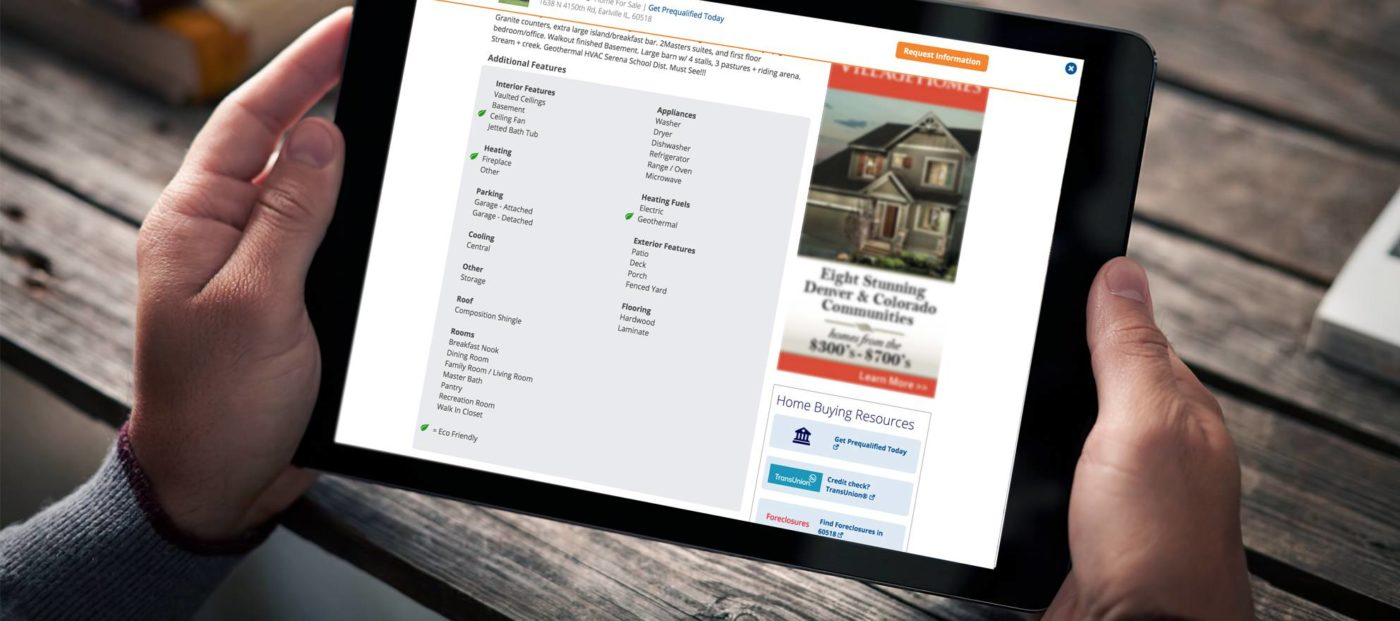 Homes.com and realtor.com show off properties' 'green' features