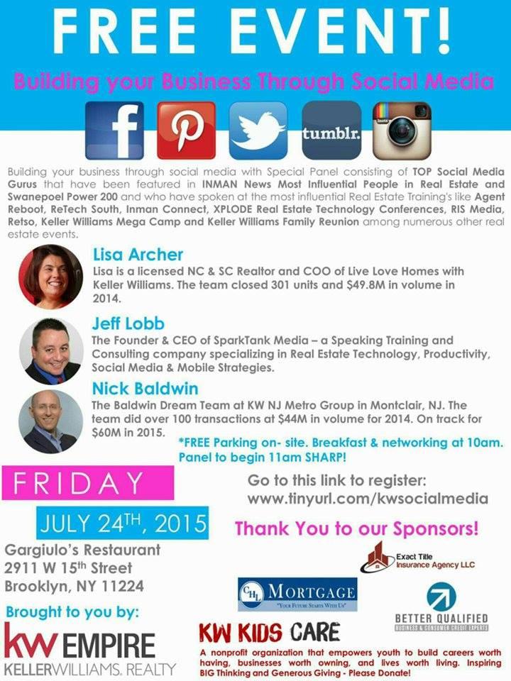 social media event