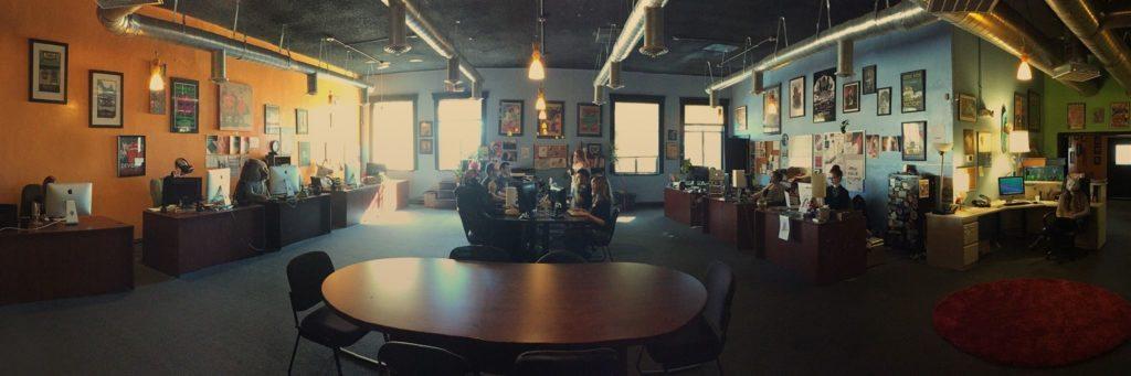 Mark Pullyblank's office space