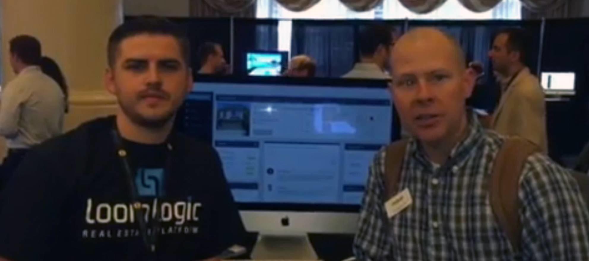 On the Startup Alley floor: LoomLogic