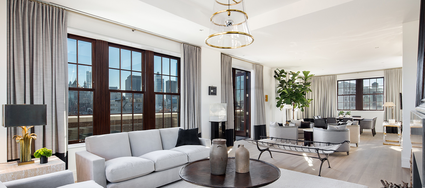 Luxury listing of the day: 4-bedroom penthouse in Nolita, NYC