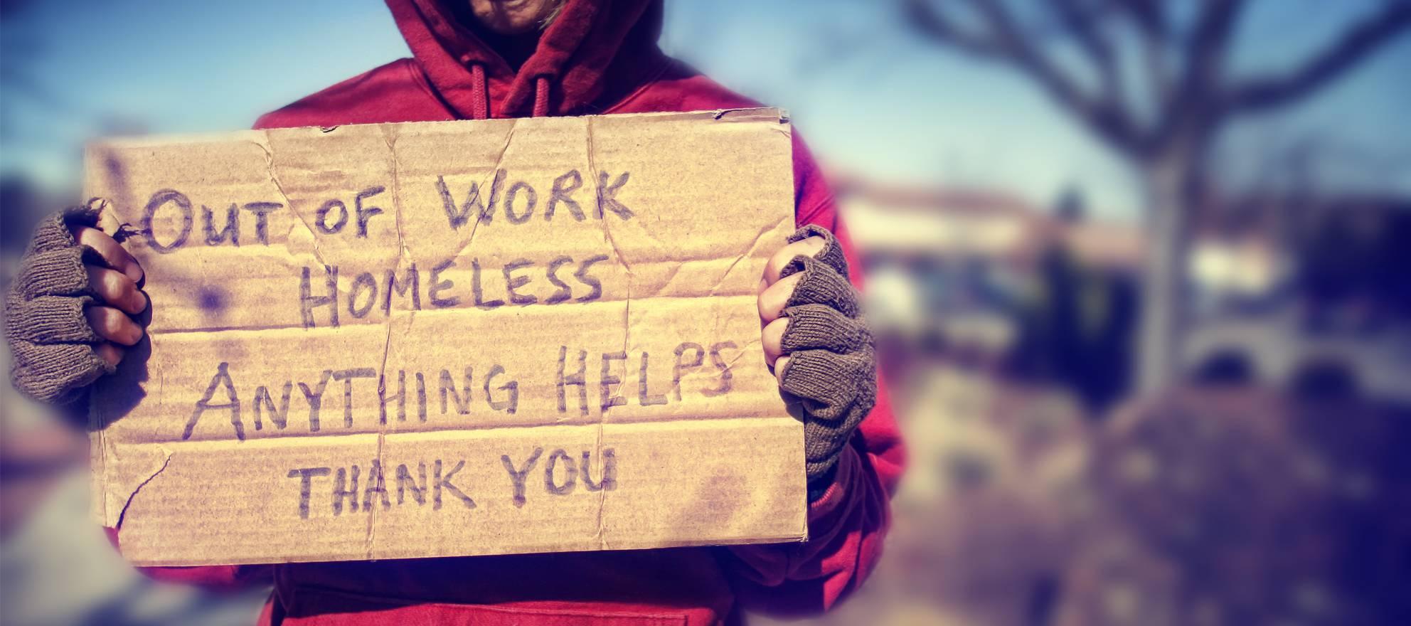 Blissville homeless