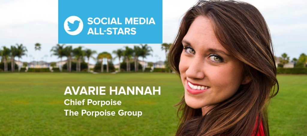 Avarie Hannah: 'Social media is not going anywhere'