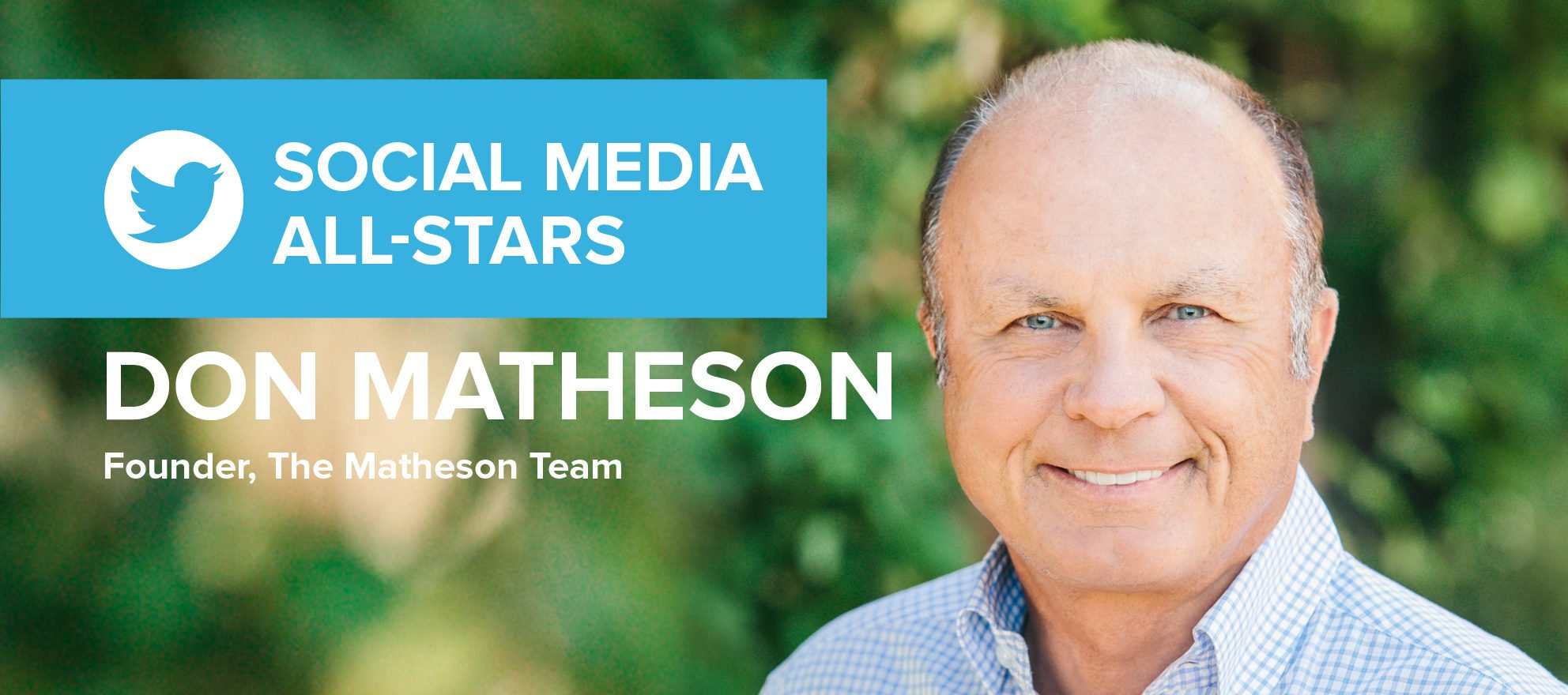 Don Matheson: 'If you can make your business social, it's way more fun'