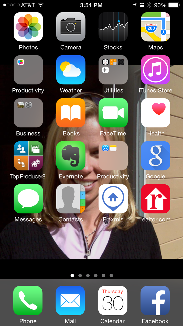Don iPhone home screen