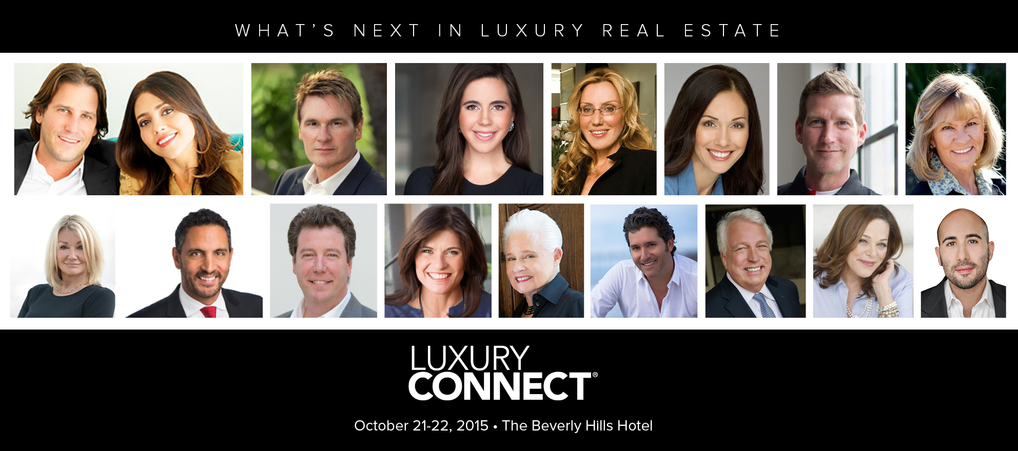 Luxury's rock stars, legends come together to define what's next