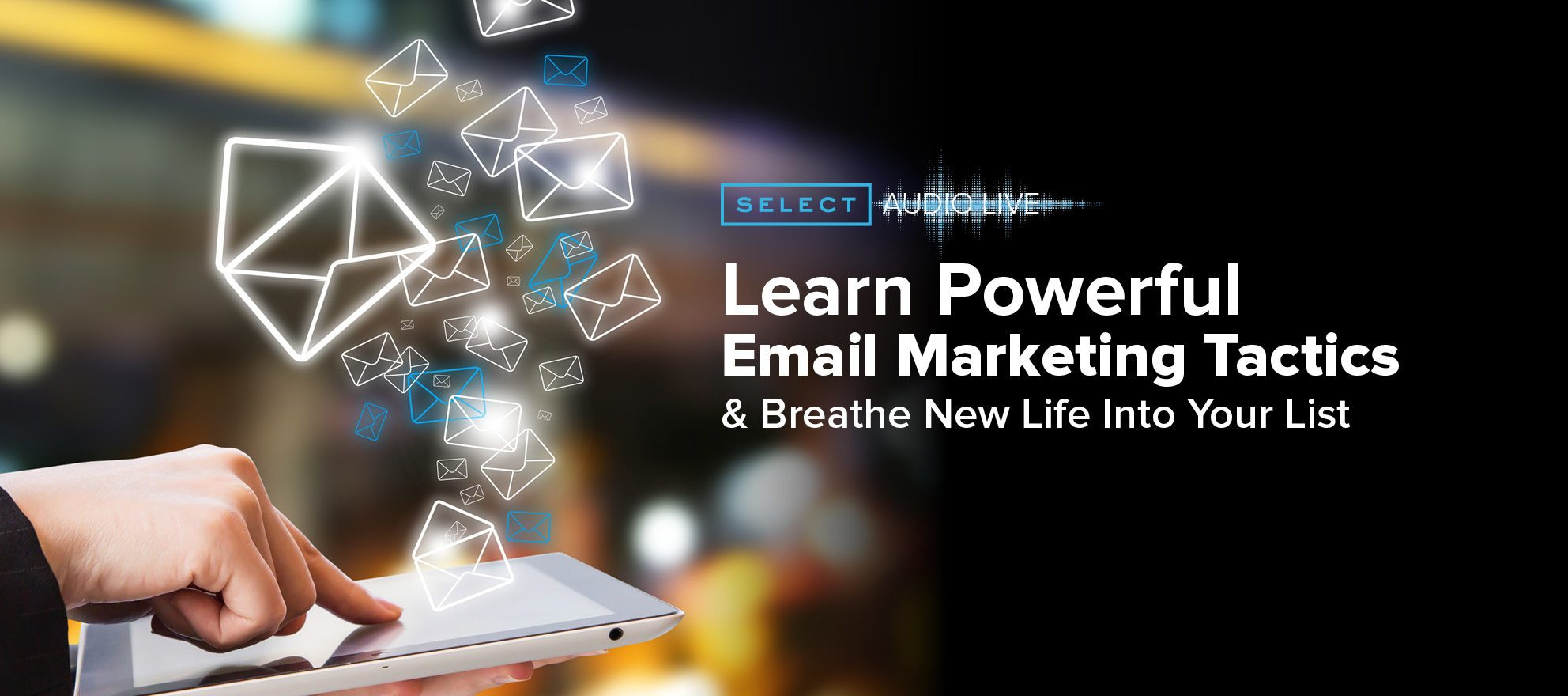 Look inside the anatomy of an effective marketing email