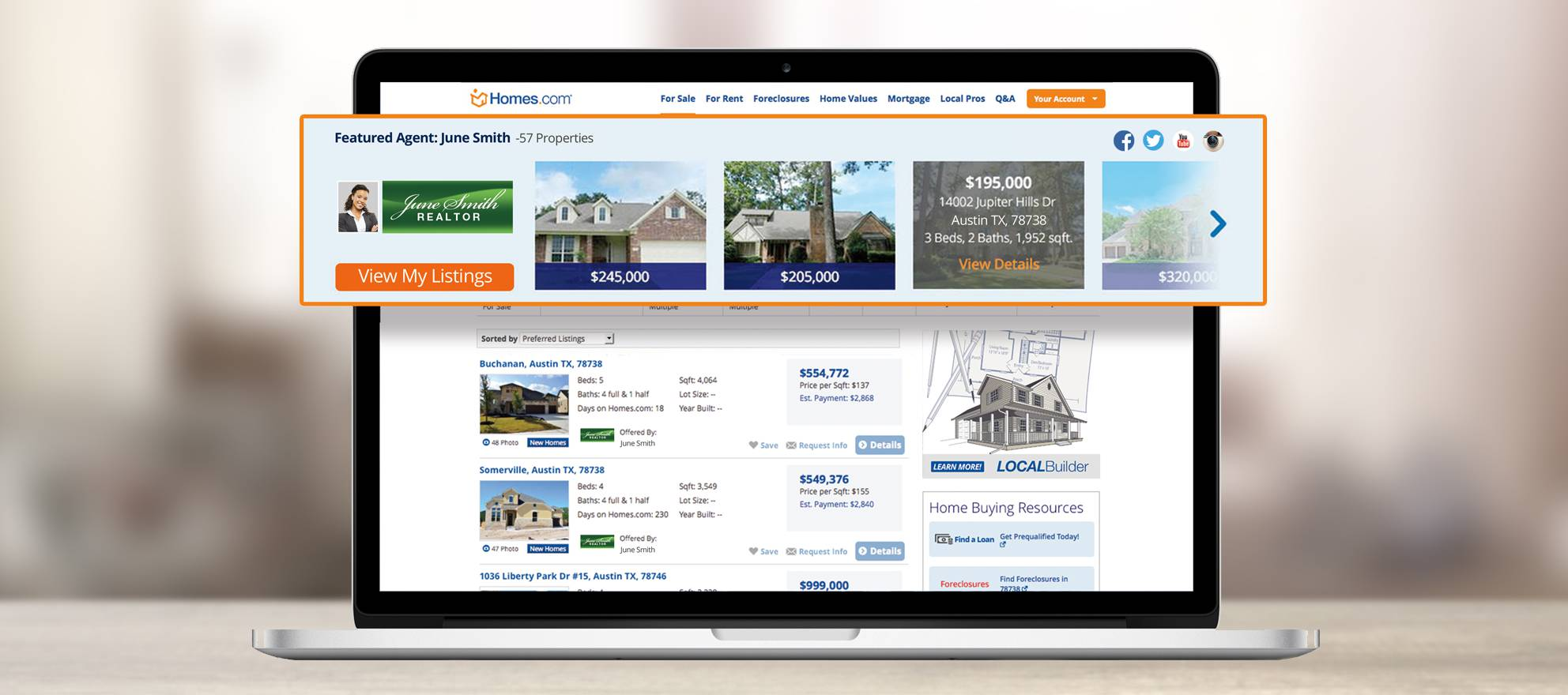Homes.com debuts 'one of the largest banner ads in the industry'