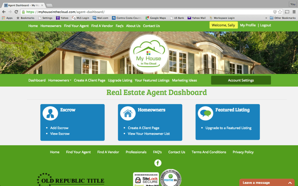 HouseintheCloud_AgentDashboard