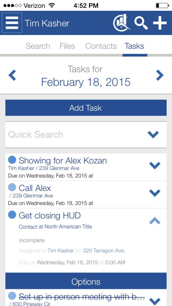 RealtyCommander_Tasks&Calendar - Mobile