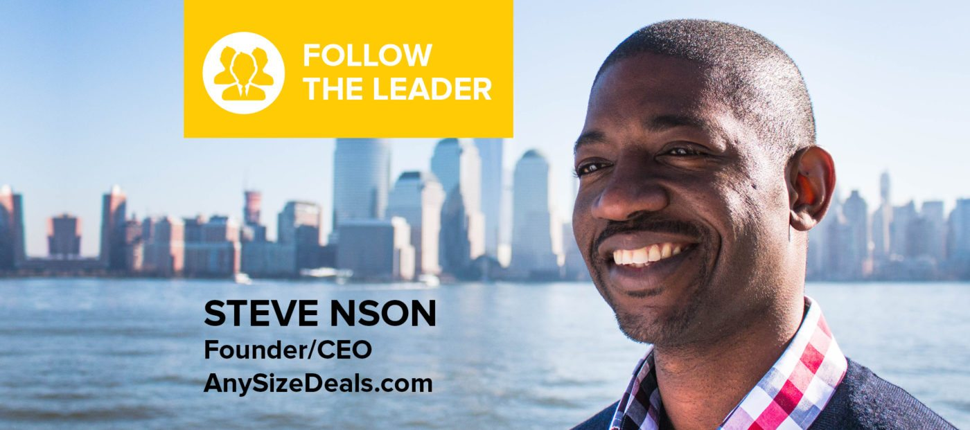 Steve Nson: 'Don't ever let lack of money stop you from living your dream'