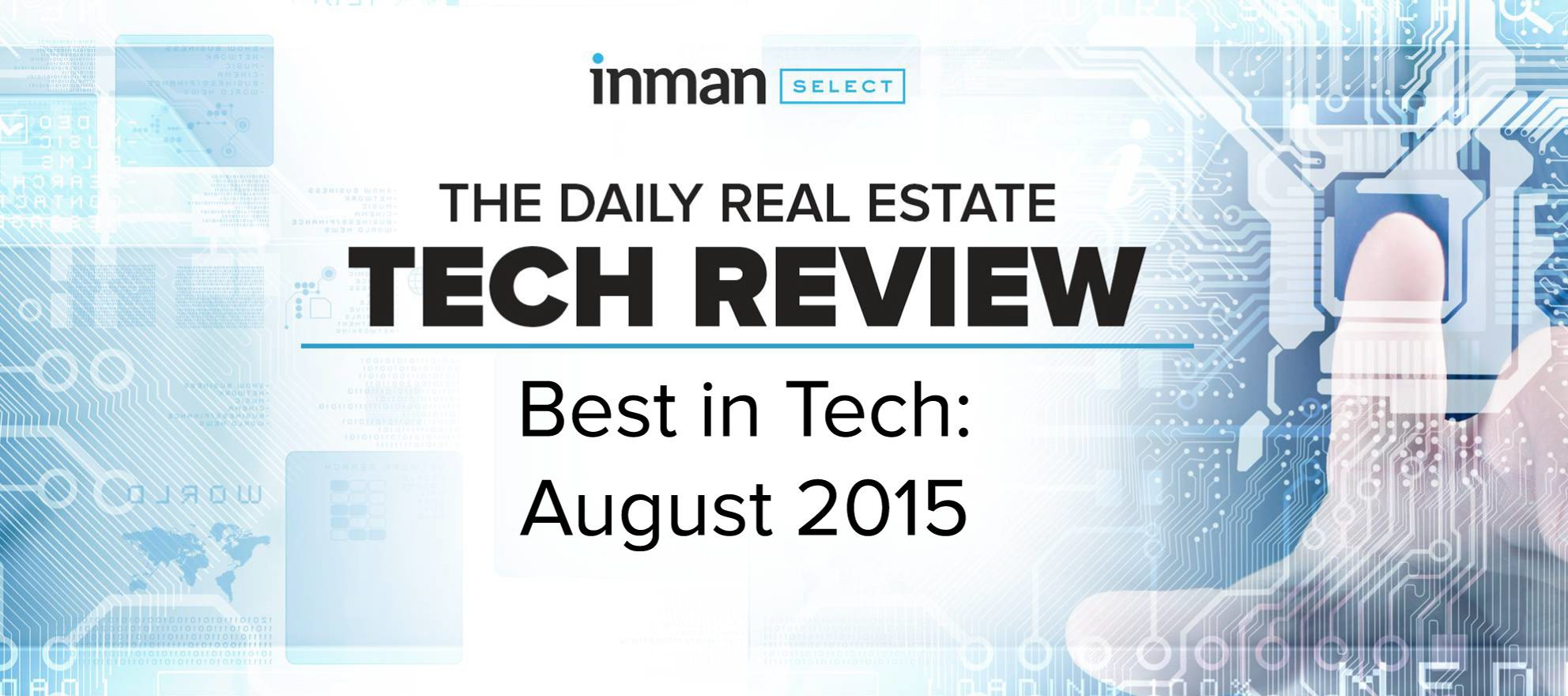Best in tech: August 2015