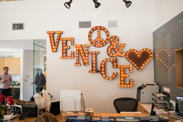 Pardee Properties' LA vibe shines in its Venice office.