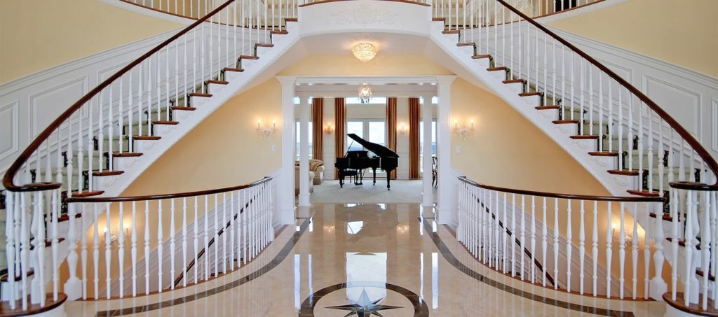 Luxury listing of the day: 5-bedroom with imperial staircase in Pittstown, NJ