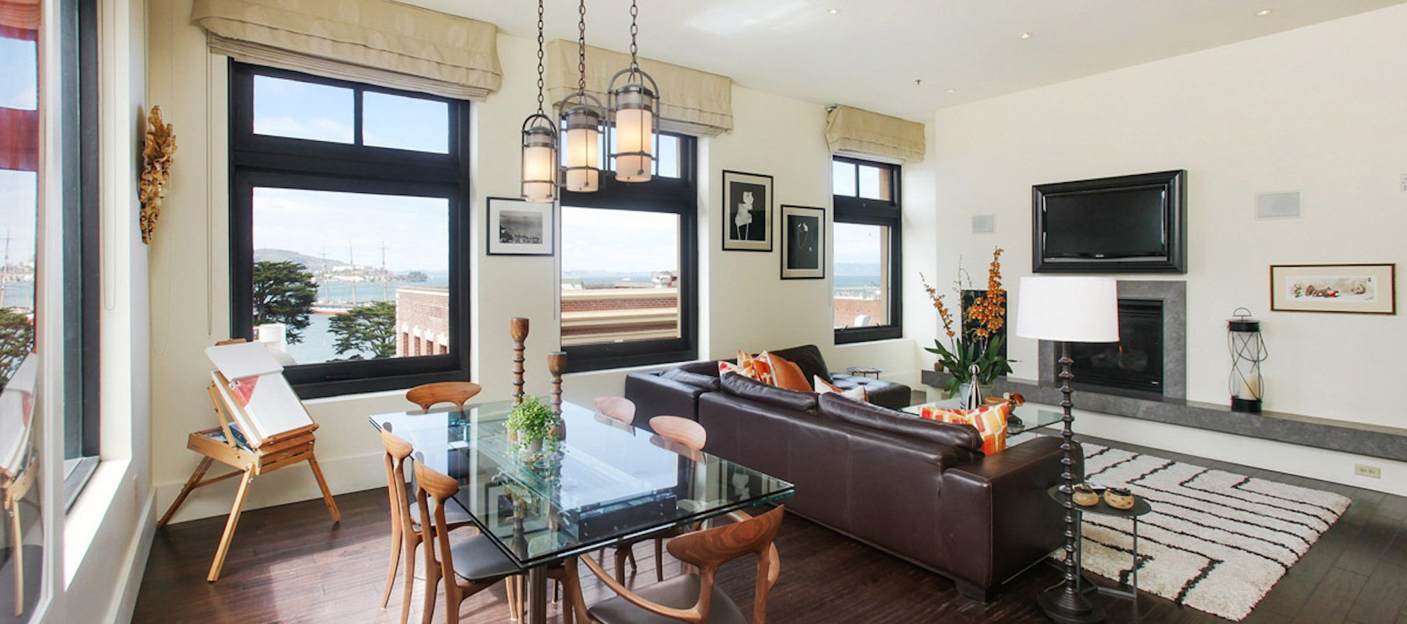 Luxury listing of the day: Russian Hill condo with view of San Francisco Bay