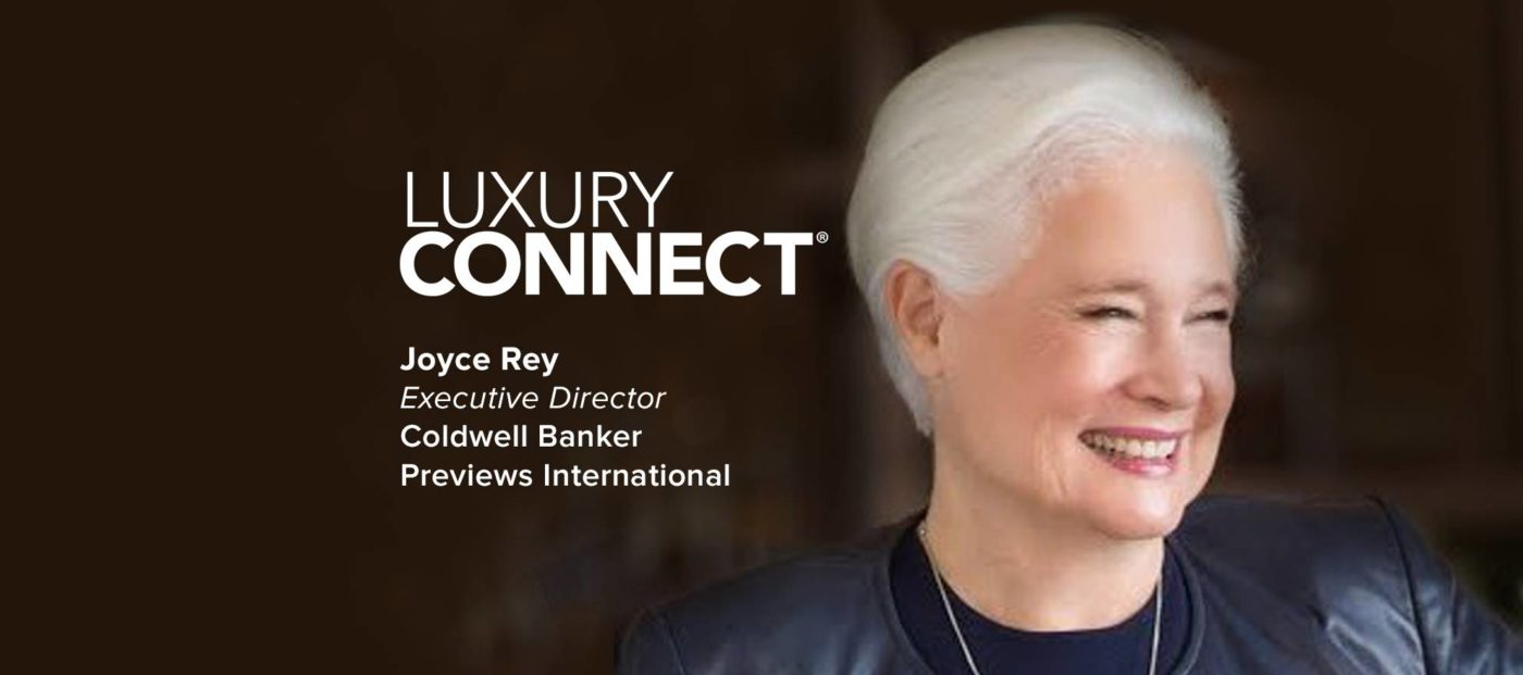 Legendary producer Joyce Rey to speak at Luxury Connect
