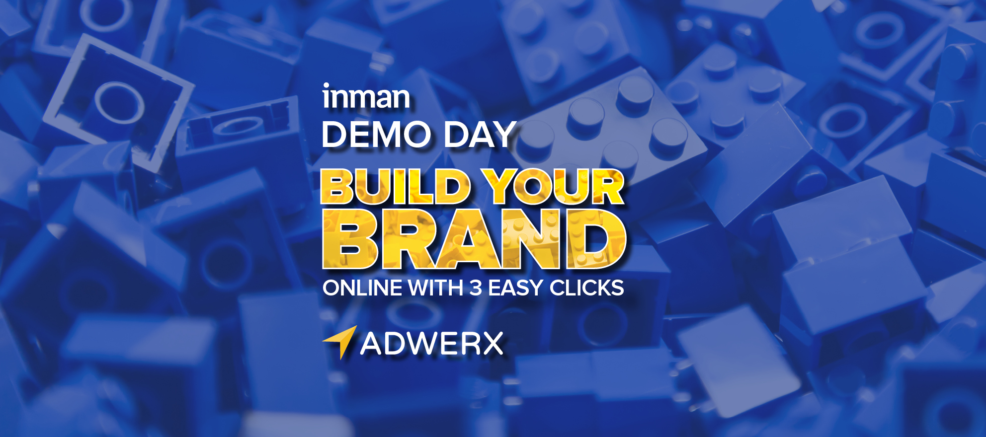 Build your brand online with 3 easy clicks using Adwerx