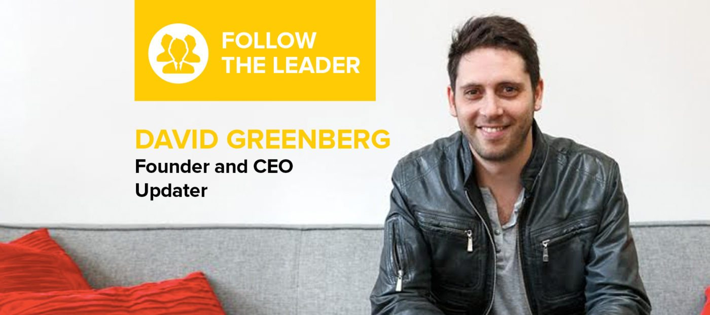 David Greenberg: 'It's simply not possible to build an amazing company without amazing people'