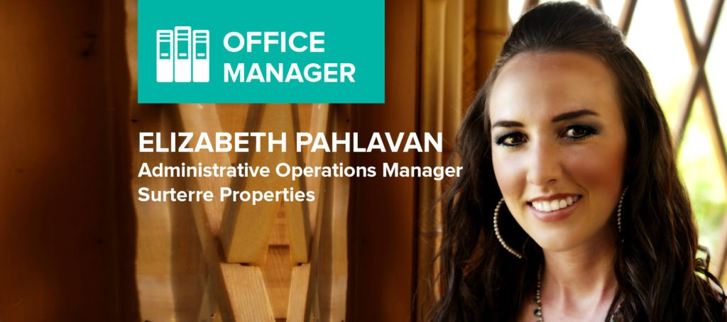 Elizabeth Pahlavan: 'It takes a mix of being a social butterfly, statistical analyst, office mom, problem solver, peace keeper, tech expert and psychologist'