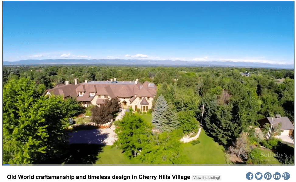 Screen shot of a property video on Liv's video landing page.