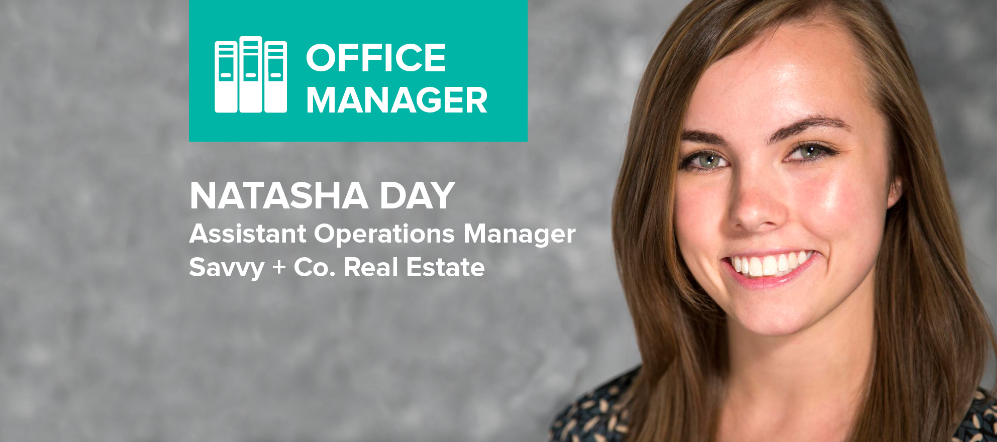 Natasha Day on selling a home while managing an office