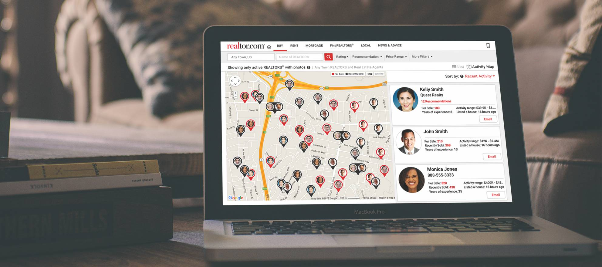 Realtor.com pilots agent profiles with MLS-sourced transaction data, ratings and reviews