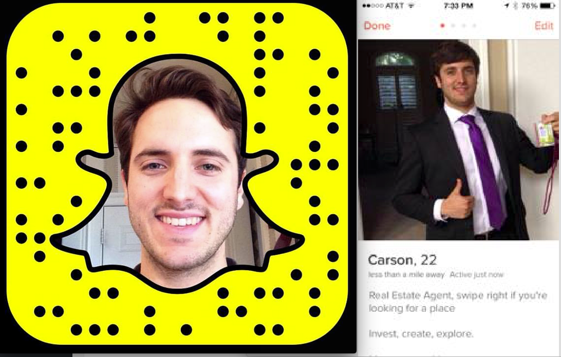Instagram, Snapchat and Tinder may be the new frontier for real