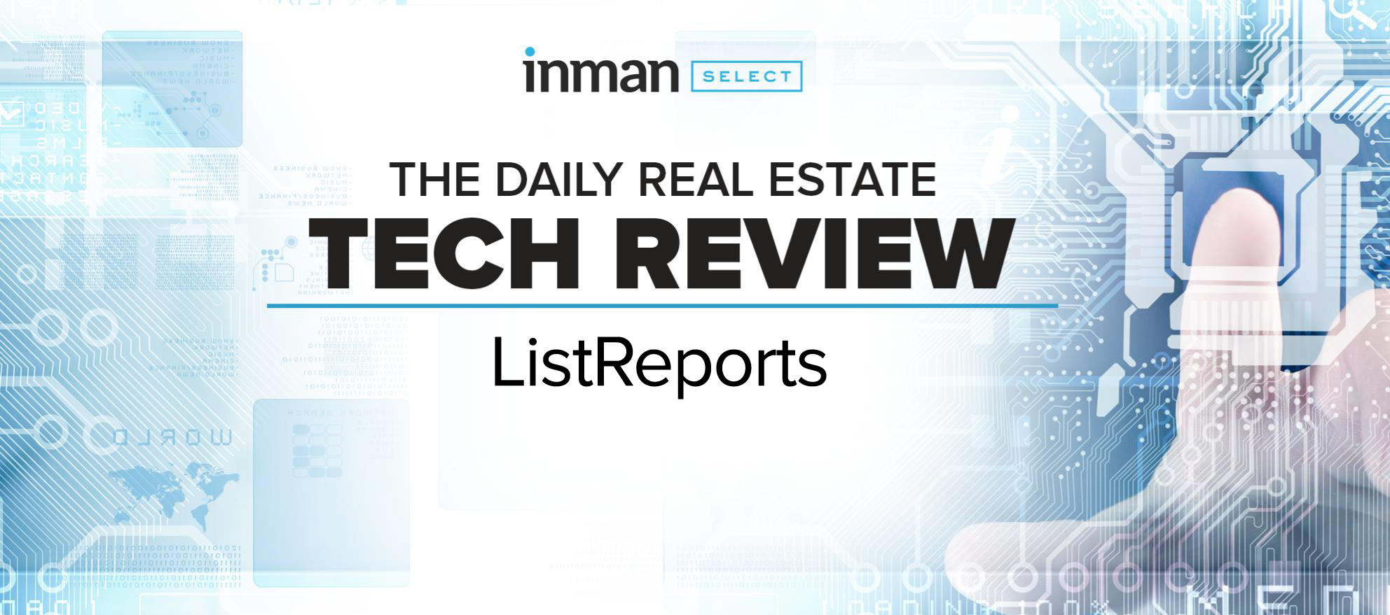 ListReports is a text-driven property marketing service that favors smart design and affordability