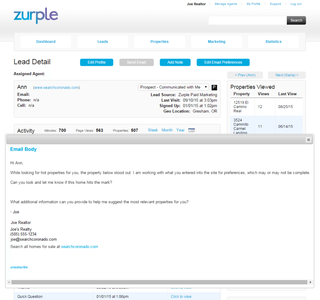 Zurple_Communication
