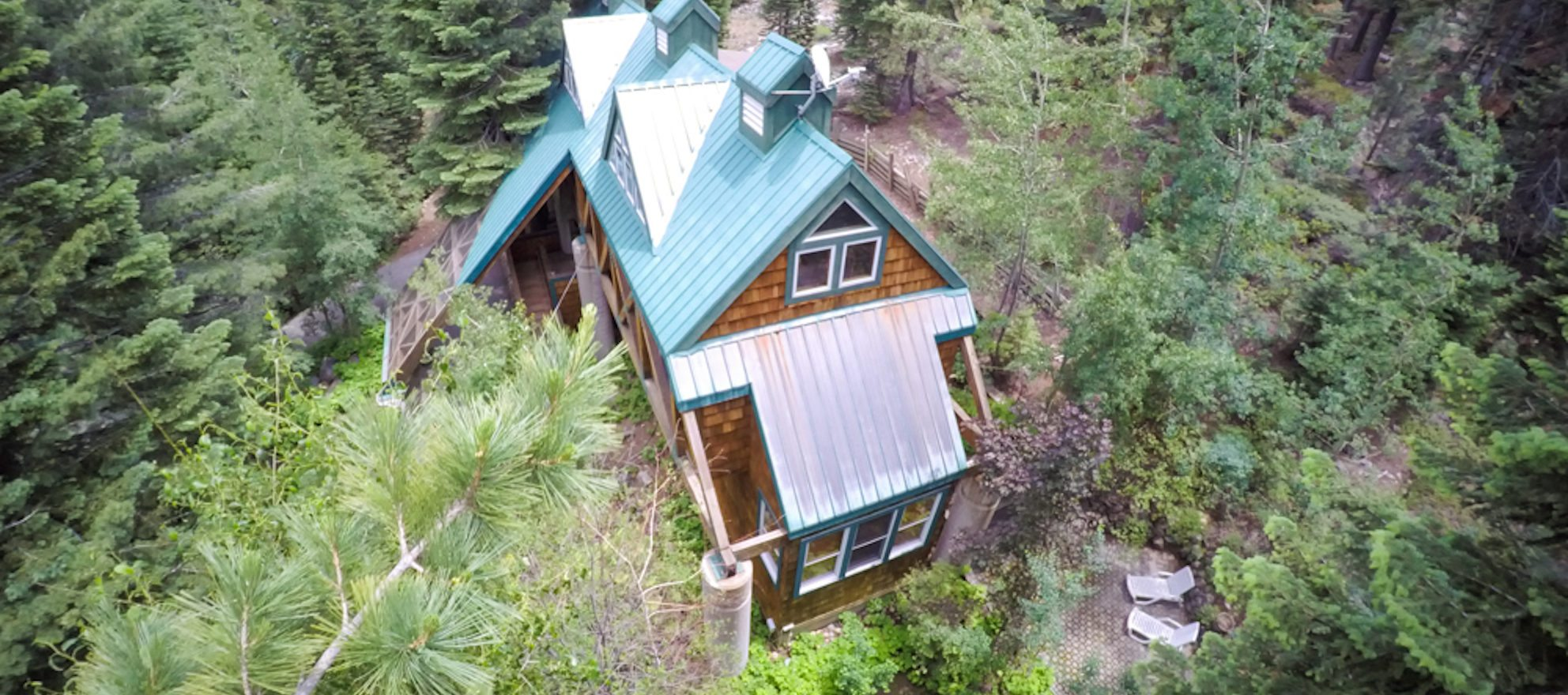 Luxury listing of the day: Unique 4-bedroom in the pines of Tahoma, Calif.