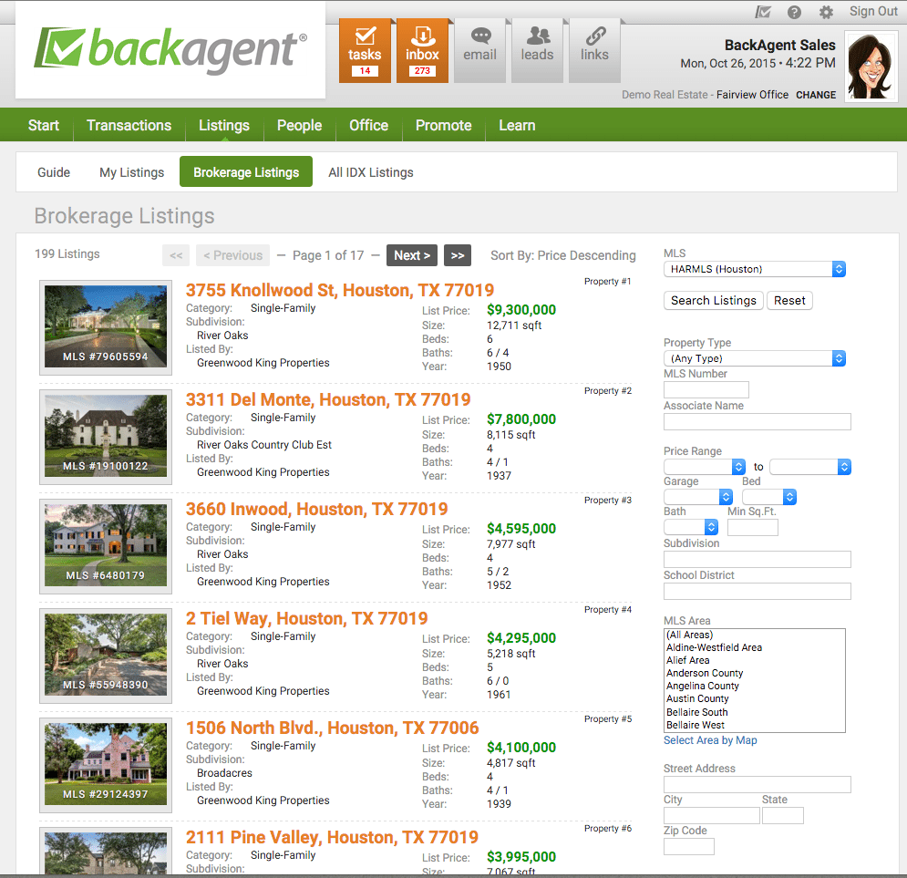 BackAgent_Listings