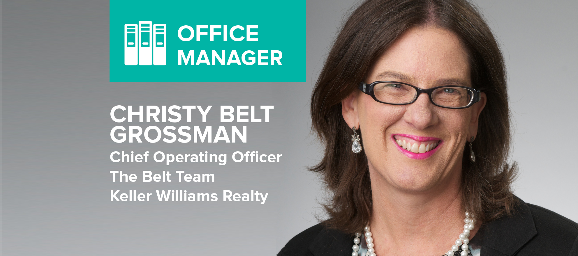 Christy Belt Grossman: 'There are not many careers where you can impact peoples' lives the way we do'