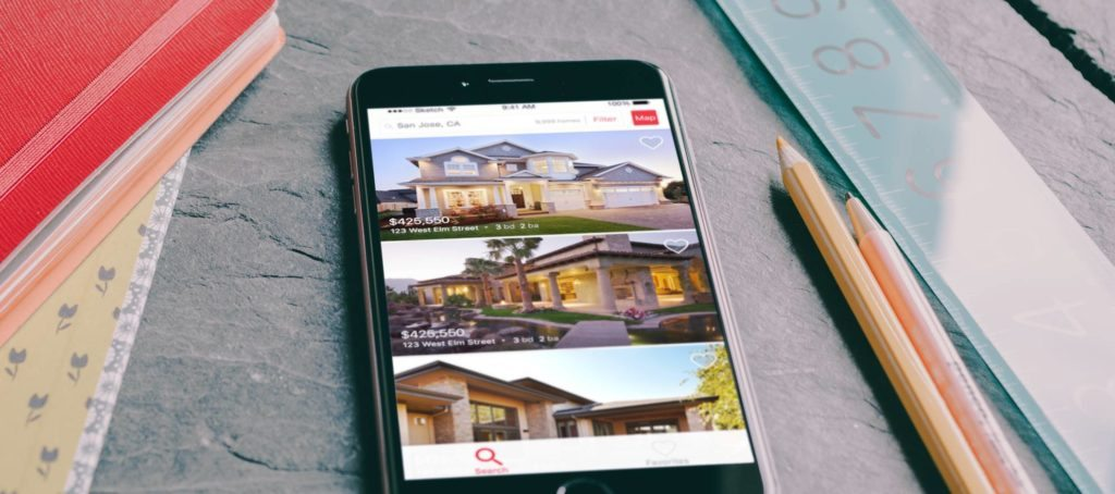 New realtor.com app lets you search listings from mobile home screens