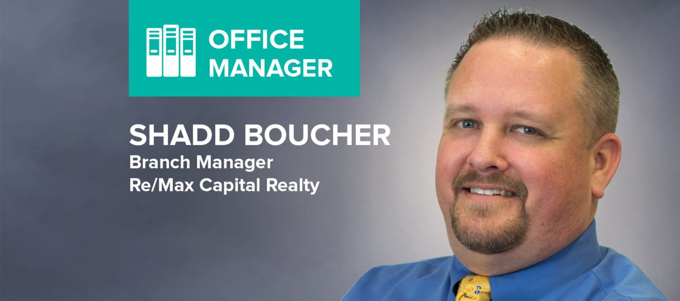 """Shadd Boucher: 'I love the """"hey, you got a minute?"""" moments'"""