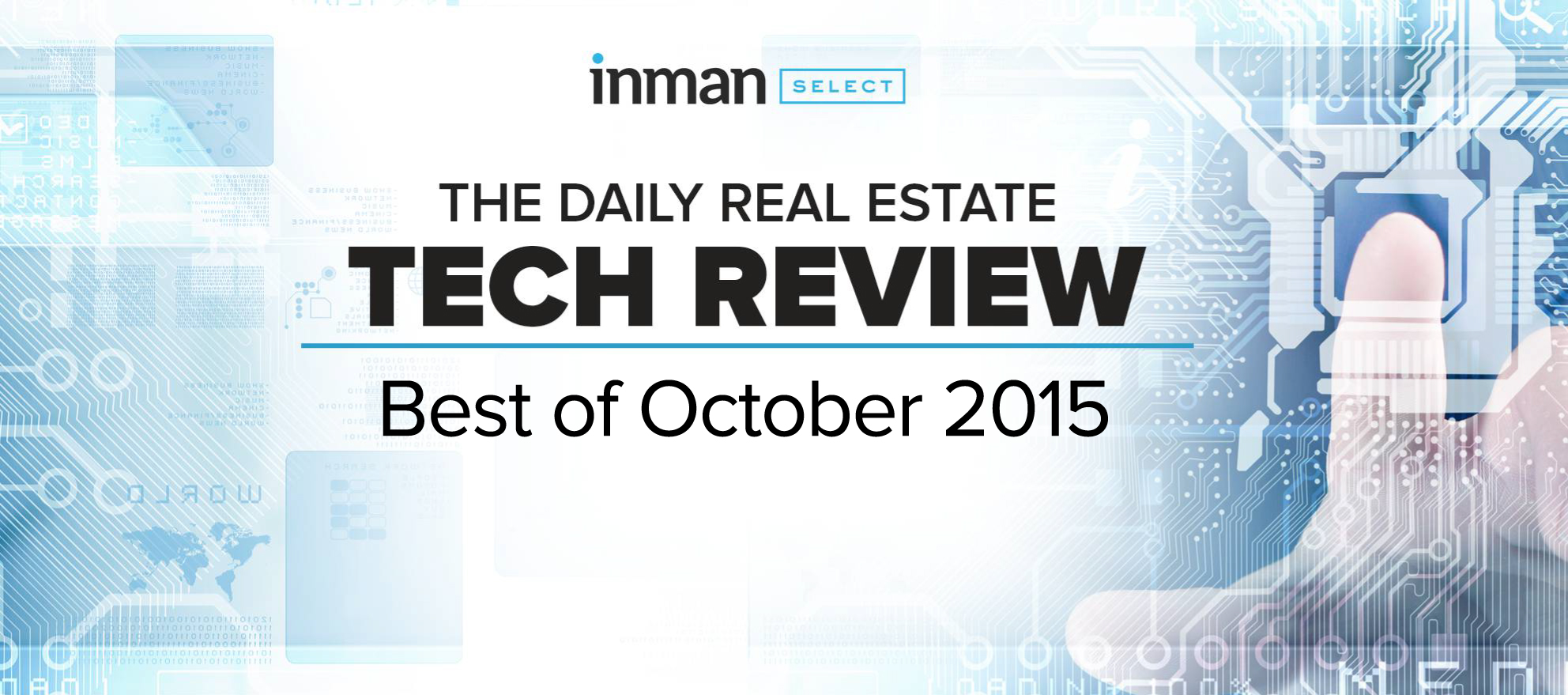Best in real estate tech: October 2015
