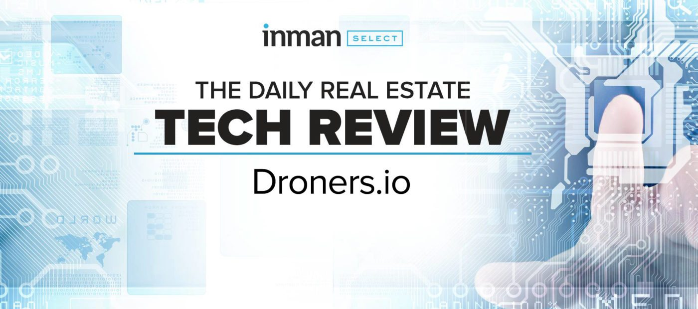 Droners gives agents a marketplace to find, compare and hire drone pilots