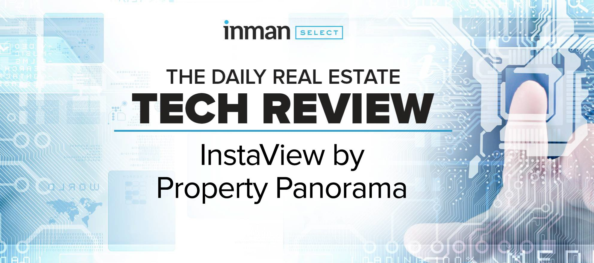 Property Panorama's InstaView automates property marketing